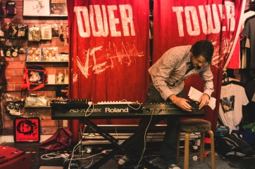 Taken by Aetherlight Photography in 2014, at Tower Records